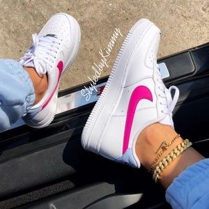 🌸 NIKE Women Air Force 1 AF1 Sneakers Shoes